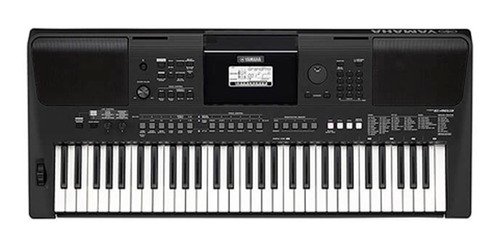 Teclado Organeta Yamaha Psr-e463 Con Adaptador Pa150 + Base
