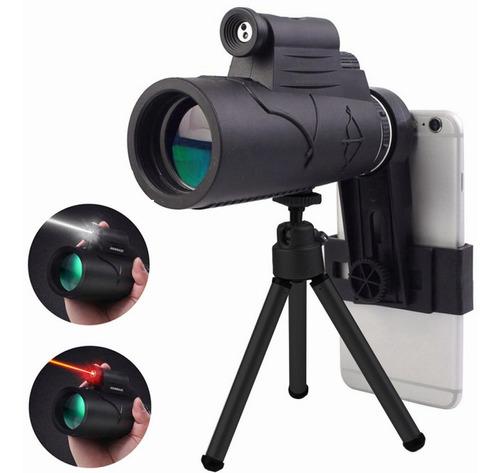 Telescopio Láser Y Iluminado Hd Eyepiece Con Tripop Y Clip