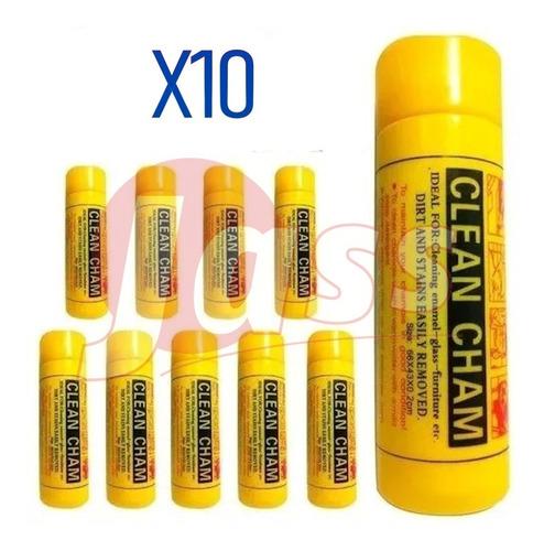 Chamois Paño Sintetico De Gamuza Sintetica X10 Unid 43x32cm