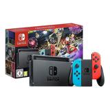 Nintendo Switch 32gb Mario Kart 8 Deluxe Color  Rojo Neón, Azul Neón Y Negro