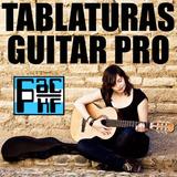 Pack 55.000 Tablaturas Guitar Pro Ordenadas Alfabeticamente