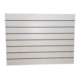 Panel Ranurado 90x65 Melamina Blanco - Fabricantes