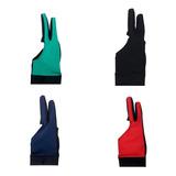 Guantes De Billar Licra De Alta Calidad Set De 4 Colores
