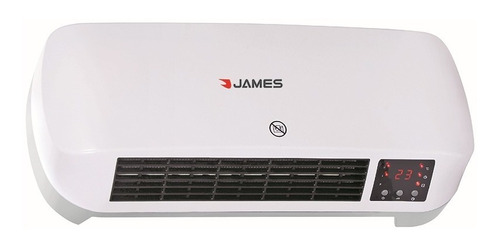 Caloventilador James Pared Cvtms2000 Compacto Yanett