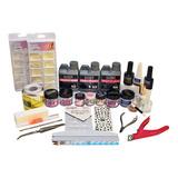 Kit Completo Para Uñas Acrilicas 30 Piezas.