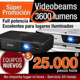 Alquiler De Video Beam $ 25.000 Pesos 322 4363013 - 7580470