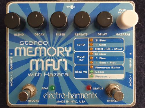 Electro Harmonix Memory Man Stereo With Hazarai Delay Looper