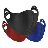 Máscara Reutilizável Lavável Tecido Máscara Esportiva Ninja