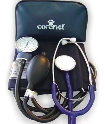 Tensiometro Aneroide Con Estetoscopio Coronet