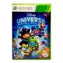 Jogo Xbox 360 Disney Universe Midia Fisica  Usado Original