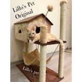 Arranhador Gato Casa Com Rede Com Mola Promoção