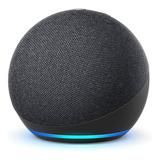Amazon Echo Dot 4th Gen Com Asistente Virtual Alexa Charcoal 110v/240v