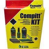 Kit Limpieza Monitores Pc Notebook Y Oficina 7 Productos !!