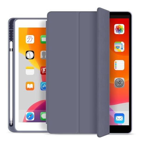 Carcasa Smart Cover iPad 7 Y 8 Gen Apple Pencil Espacio 10.2
