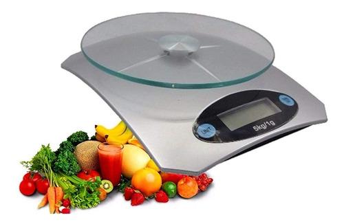 Balanza De Cocina Digital De 5kg Precision 1g Tcweb