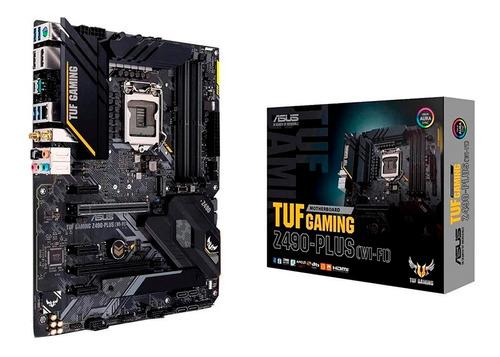 Motherboard Asus Z490 Plus Tuf Gaming Wifi 10gen Socket 1200