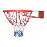 Aro De Basketball Profesional 45 + Soporte + Red + Tornillos