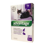 Advantage 0,8ml Gato 4 A 8 Kg Pipeta Antipulgas Bayer Tps