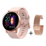 Smart Watch Mujer Deportivo, Ritmo C, Fitness Active Metal