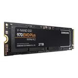 Samsung 970 Evo Plus Ssd Nvme M2 2tb Disco Estado Solido