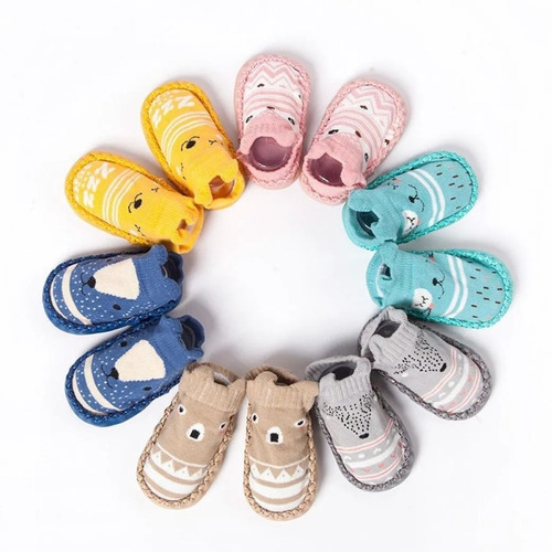 Calcetin Antiderrapante Zapato Bebe