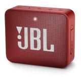 Bocina Jbl Go 2 Portátil Con Bluetooth Ruby Red