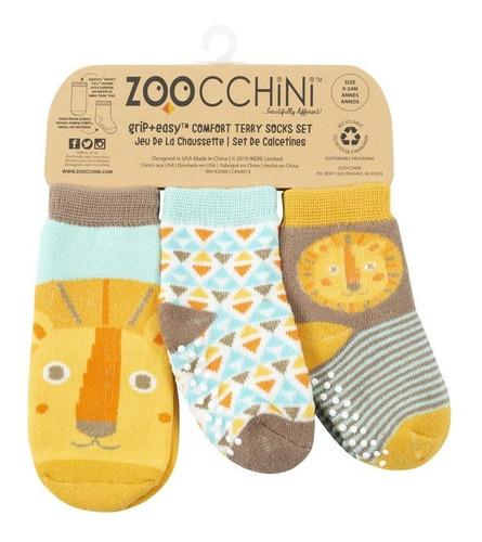 Medias De Bebés/niños Zoocchini! Diseño León! 0-24 M