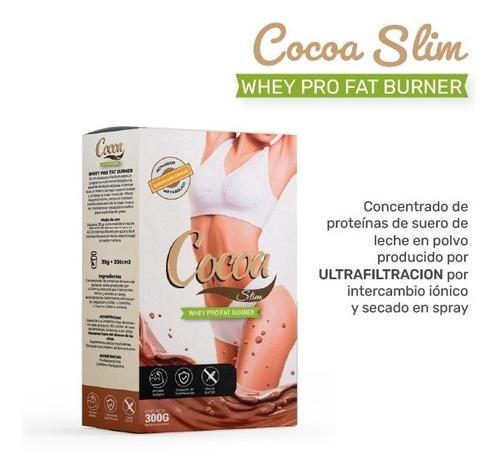 Cocoa Slim - Whey Pro Fat Burner - Marca Oficial