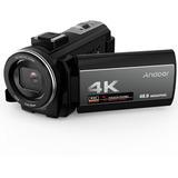 4k Cámara De Video Digital Andoer Wifi Videocámara Zoom 16x