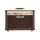 Amplificador Marshall Acoustic As50d Combo Transistor 50w Marrón