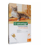 Advantage 0,4ml Gato Hasta 4 Kg Pipeta Antipulgas Bayer Tps