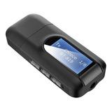 Trasmisor Y Receptor Bluetooth Usb V5.0 Tv Aux / Rx - Tx