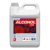 Bidón Alcohol Etílico 70% Sanitizante Liquido 5lt Con Anmat