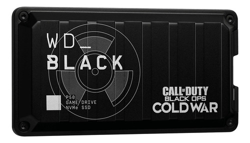 Disco Duro Externo Wd 1tb 20gb/s Black Ssd P50 Call Of Duty