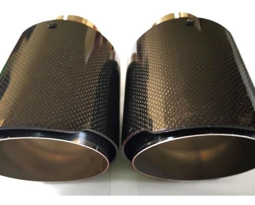 Colillas De Escape Fibra De Carbono Para Audi A3 S3 A4 A5 S4