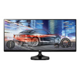 Monitor LG Ultrawide 25um58 Led 25  Negro 110v/220v
