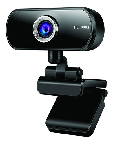 Pc Câmera Webcam 1600k Pixels Com Microfone
