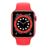 Apple Watch (gps) Series 6 40mm Caja 40mm De Aluminio (product)red Malla (product)red De Fluoroelastómero A2291