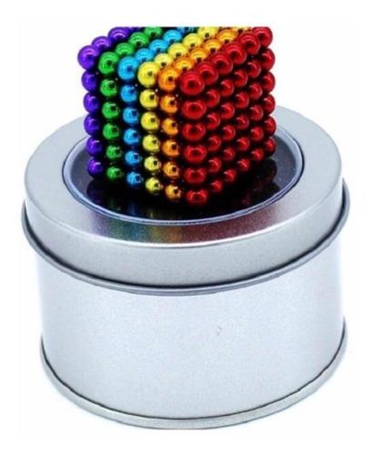 Imanes De Colores Juego Antiestrés 216 Pcs 4.7mm