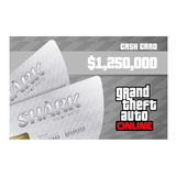 Gta Great White Shark Cash Card 1250000 Usd - Pc
