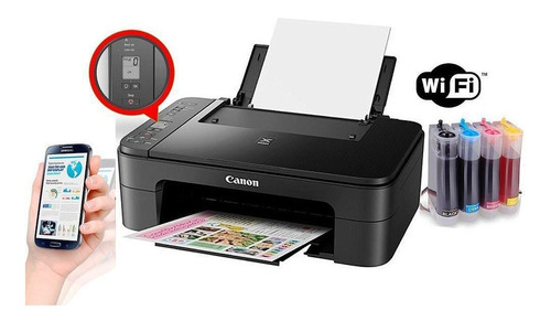 Multifuncion Canon Wifi Con Display Sistema Continuo Nuevas