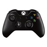 Joystick Inalámbrico Microsoft Xbox One Controller + Cable For Windows Negro