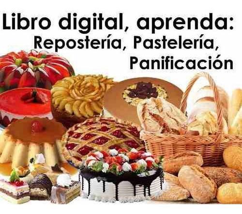 Curso Reposteria Pasteleria Panaderia Completo