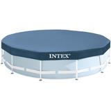 Intex Cubierta Tapa Circular De 15ft (4.57m) De Diametro