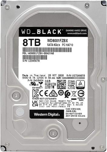 Disco Duro Western Digital Black Wd8001fzbx 8tb Negro Chia