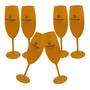 Kit Com 10 Taças Veuve Clicquot Champanhe Espumante Vinho Original