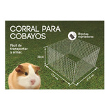 Jaula Corral Modular De Mascotas Cobayos Erizo Paneles 50x30