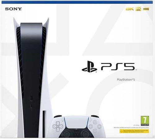 Consola Playstation 5 Edicion Disco Ps5 Cd. Sellada. Nueva