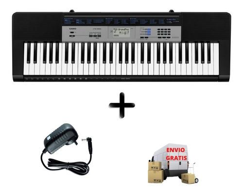 Teclado Casio Ctk1550 Organo 5 Octavas Con Fuente De Regalo