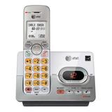 Teléfono Inalámbrico At&t El52103 Plateado